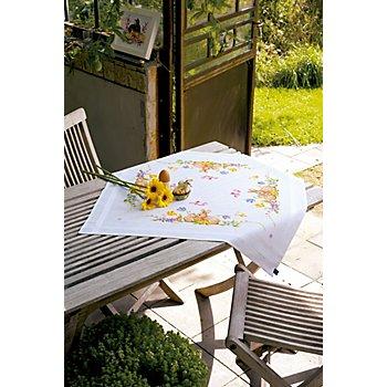 Nappe à broder 'Pâques' 80 x 80 cm