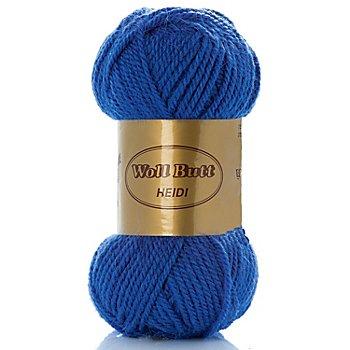 Woll Butt Heidi - Acrylmischung, blau
