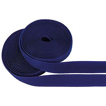 buttinette Klettverschlussband, zum Annähen, blau, Breite: 2 cm, Inhalt: je 3 m