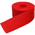 buttinette Sangle pour sacs, rouge, largeur : 4 cm, longueur : 3 m