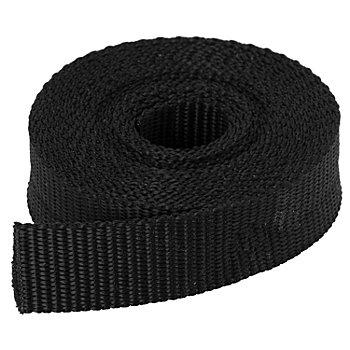 buttinette Taschengurtband, schwarz, Breite: 2,5 cm, Länge: 3 m
