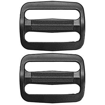buttinette Leiterschnallen, für 25 mm breite Bänder, 4 Stück, Kunststoff