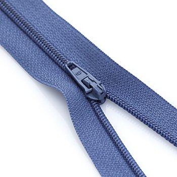 buttinette Fermeture à glissière, bleu jeans, non séparable