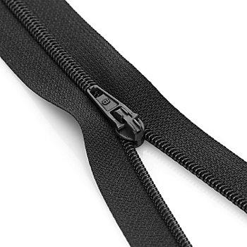 buttinette Standard-Reißverschluss, schwarz, nicht teilbar