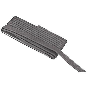 buttinette Baumwoll-Paspelband, grau, 2,4 mm Ø, 5 m