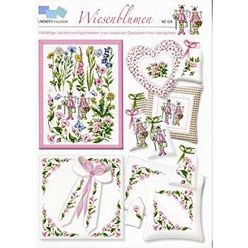 Stickvorlage 'Wiesenblumen'