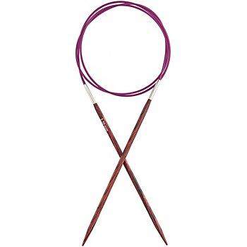 KnitPro Aiguilles circulaires 'Cubics', bois de bouleau, 80 cm