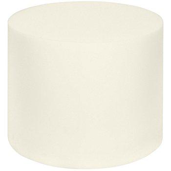 buttinette Coussin rond en mousse pour poufs, 50 cm Ø x 40 cm, 4,2 kPa