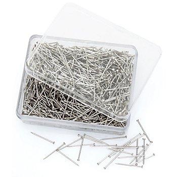 buttinette Epingles en acier, longueur : 16 mm, 50 g = env. 1000 pièces