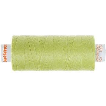 buttinette Universal-Nähgarn, Stärke: 100, 500m-Spule, limone
