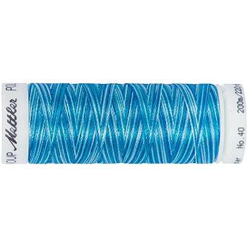 Mettler Poly Sheen Multi, Stärke: 40, 200m-Spule, türkis color