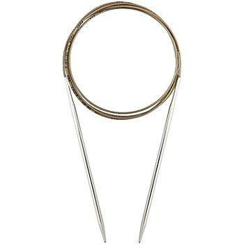 addi Rundstricknadeln, Messing, 150 cm