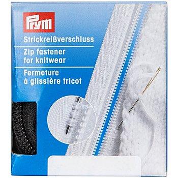 Prym Fermeture à glissière pour tricots, noir, séparable