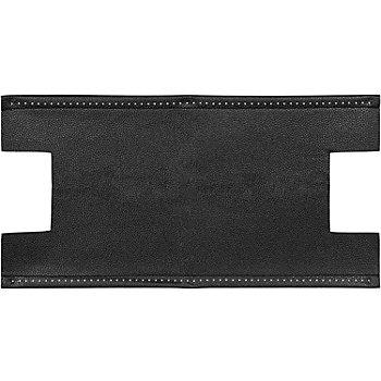 Prym Taschenboden in Lederoptik, Farbe: schwarz, Größe: 46 x 24 cm