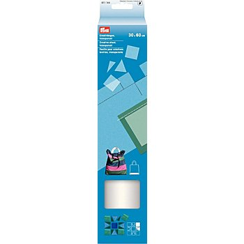 Prym Kreativbogen, transparent, Größe: 30 x 60 cm