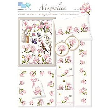Stickvorlage 'Magnolien'