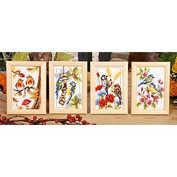 Stickbilder 'Die 4 Jahreszeiten', 8 x 12 cm, 4er-Set