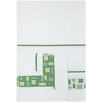Geschirrtuch 'Mosaik', grün