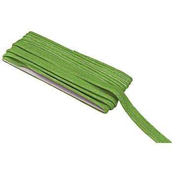 buttinette Baumwoll-Paspelband, apfelgrün, 2,4 mm Ø, 5 m