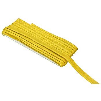 buttinette Baumwoll-Paspelband, gelb, 2,4 mm Ø, 5 m