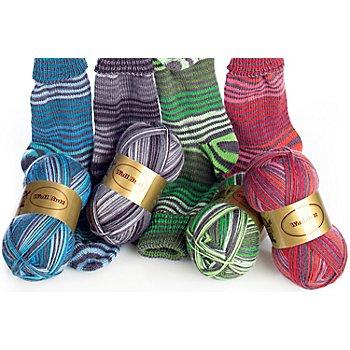 Set éco Woll Butt laine à chaussettes 'Wiesbaden', 400 g