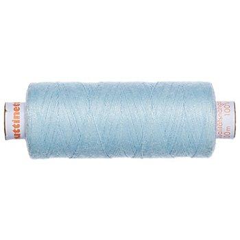 buttinette Fil à coudre universel, bleu aqua, grosseur : 100, bobine de 500 m