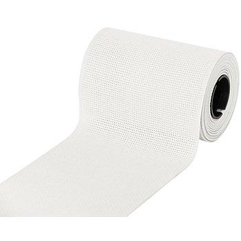 Aida-Stickband, weiß, Breite: 10 cm, 5m-Rolle