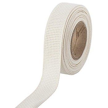 Aida-Stickband, natur, Breite: 2 cm, 5m-Rolle
