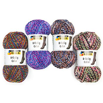 Regia Sockenwolle 8-fädig Color