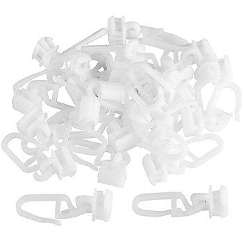 buttinette Switchgleiter für Vorhangschienen, Größe: 30 x 11 mm, Inhalt: 25 Stück
