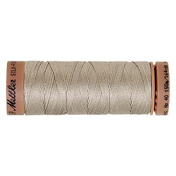 Mettler Silk Finish Cotton Maschinen- & Handquiltgarn, Stärke: 40, 150m-Spule, taupe