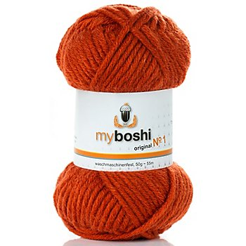 Myboshi Label auch erh/ältlich Myboshi Wolle Nr orange alle Farben zur Auswahl 50 gr. 1