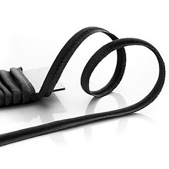 buttinette Baumwoll-Paspelband, schwarz, 4 mm Ø, 5 m