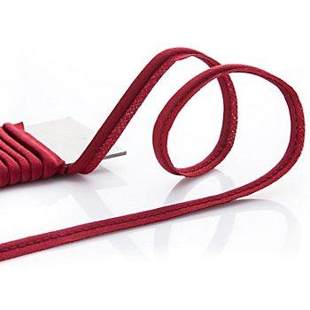 buttinette Baumwoll-Paspelband, weinrot, 4 mm Ø, 5 m