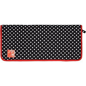 Prym Étui pour aiguilles à tricoter 'Polka Dots', noir/blanc/rouge