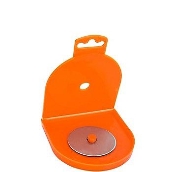 buttinette Ersatzklingen für Kreisschneider, Größe: 18 mm Ø, Inhalt: 4 Stück