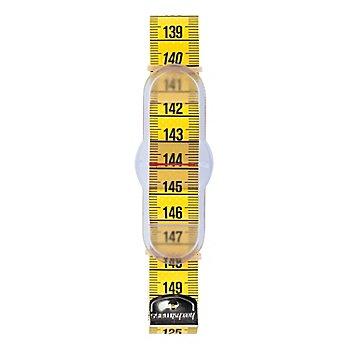 hoechstmass Taillenmaßband mit Schieber, in cm-Einheit, Länge: 150 cm