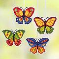"""buttinette """"Papillons déco à broder"""""""