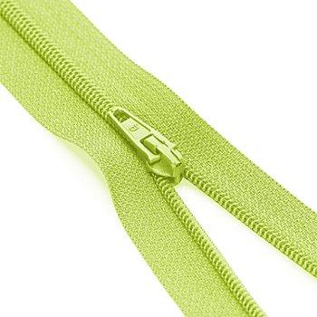 buttinette Standard-Reißverschluss, hellgrün, nicht teilbar