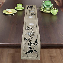 Chemin de table Hardanger 'silhouette'