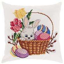 Stickkissen 'Littel Bunny'