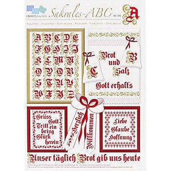 Stickvorlage 'Sakrales ABC'