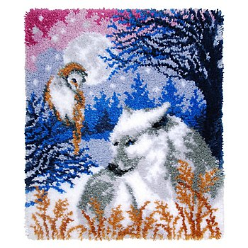 buttinette Knüpfteppich 'Fantasy', 55 x 66 cm