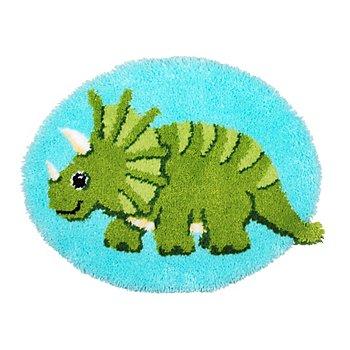 buttinette Knüpf-Formteppich 'Dinosaurier'