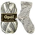 """Opal Regenwald Sockenwolle """"Zebra"""""""