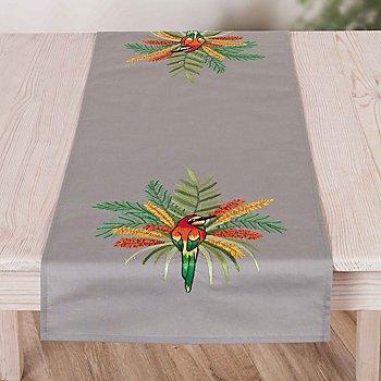 Chemin de table à broder 'jungle'