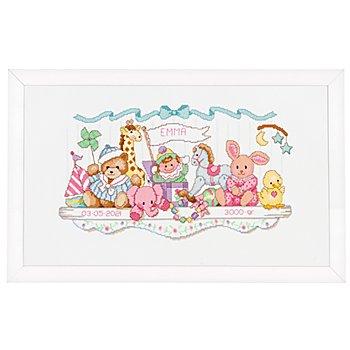 Stickbild 'Zirkus', 41 x 23 cm