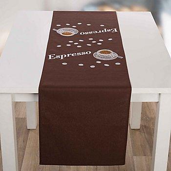 Stickläufer 'Espresso'