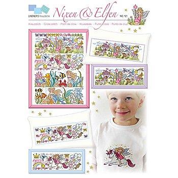 Stickvorlage 'Nixen & Elfen'