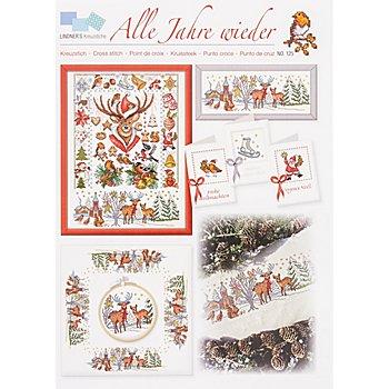 Livret de broderie 'Noël en forêt'